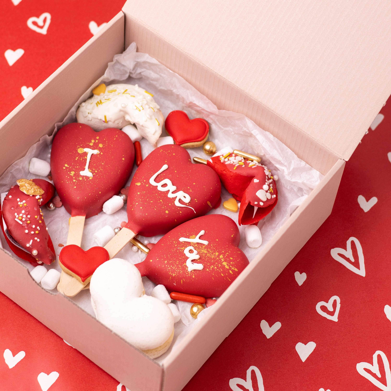 Love Box ROT mit Glückskeksen - AUSVERKAUFT
