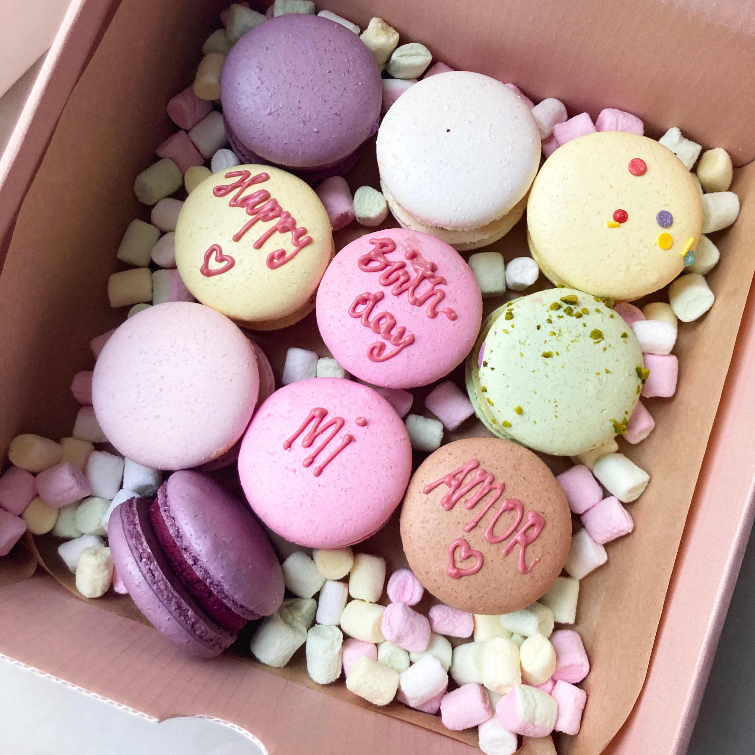 Macaron Geburtstagsbox