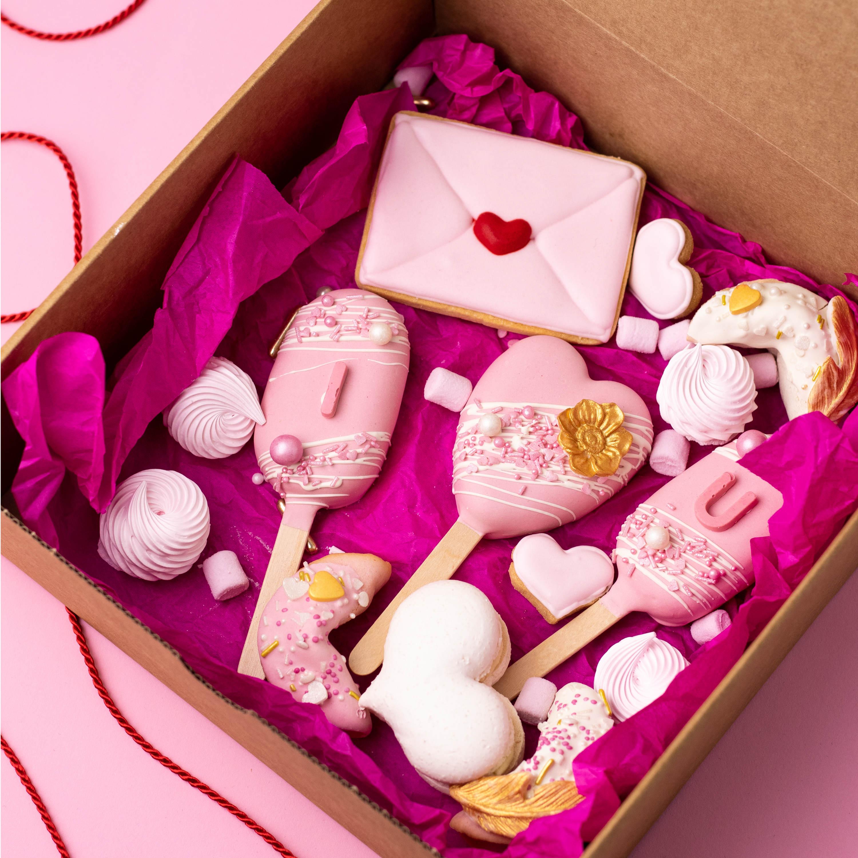 Love Box ROSA mit Glückskeksen - AUSVERKAUFT