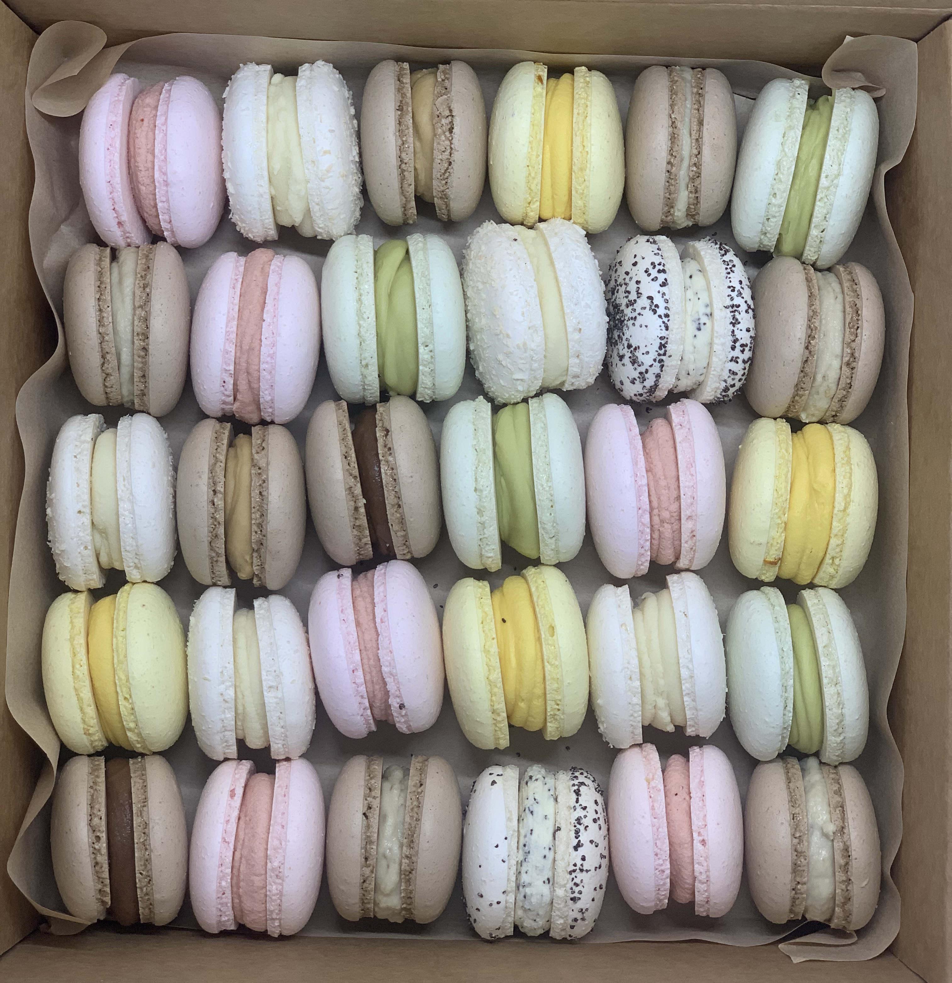 Macaron 30er Box
