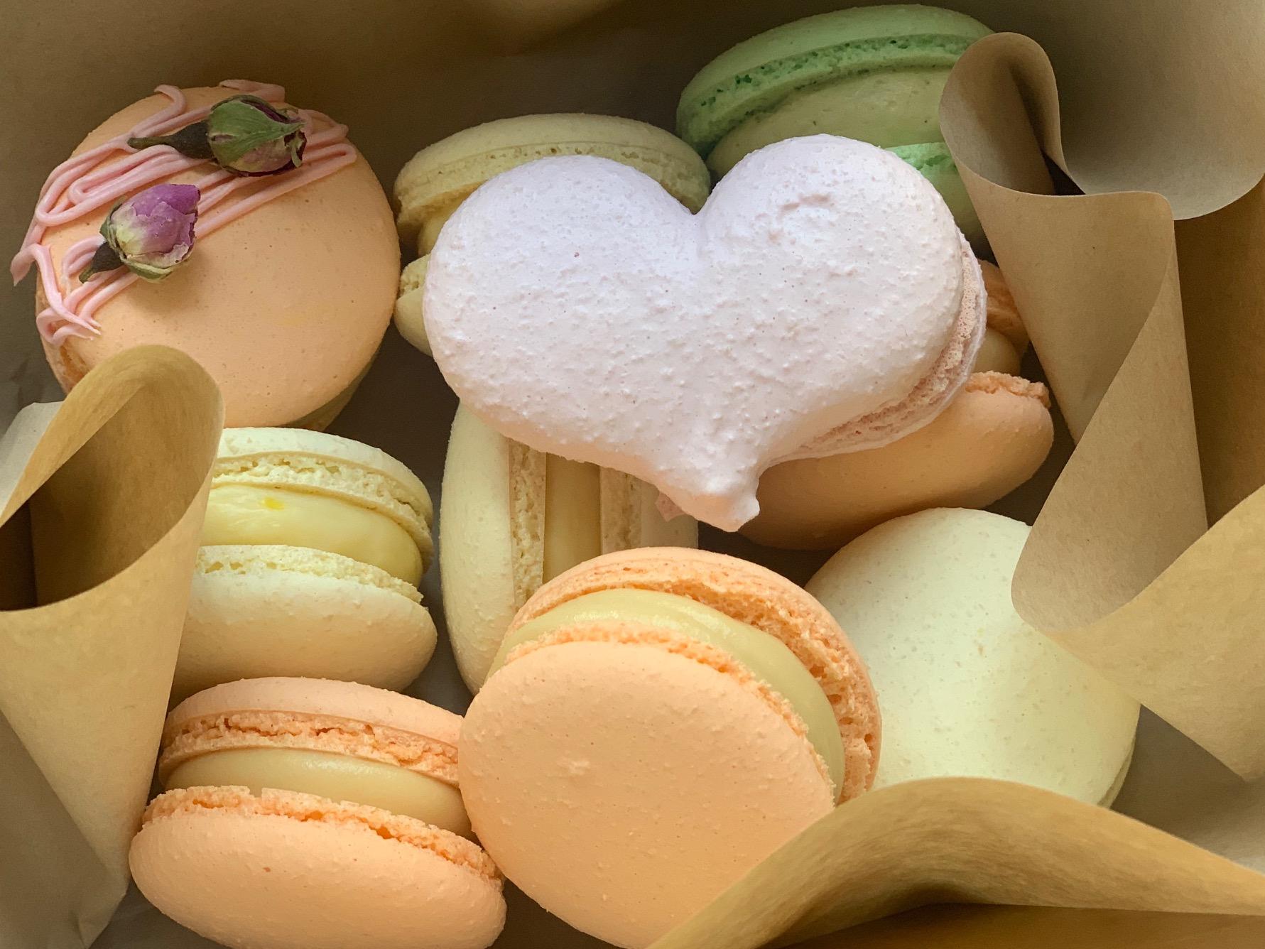 Box: Macaron Herzbox